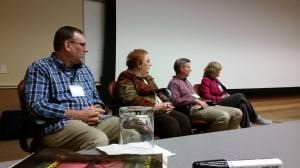 Jim & Joyce Hart, Mike Dellosso, Carol Hamilton (L to R)